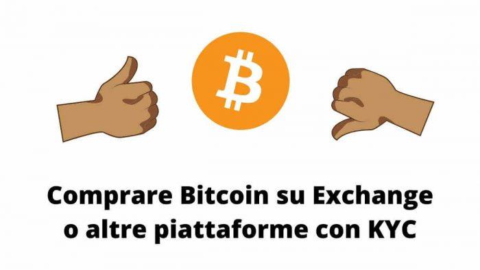 Vantaggi e Svantaggi dei servizi che richiedono i documenti per comprare Bitcoin - KYC