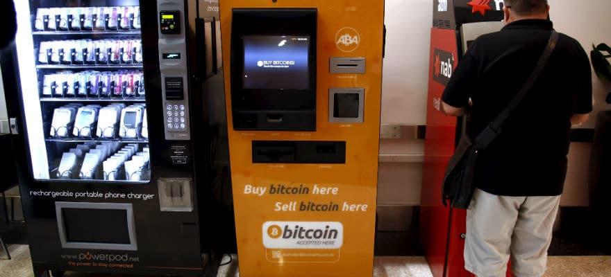 Esempio di ATM per comprare Bitcoin anonimamente in contanti