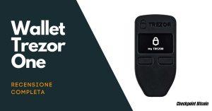 Trezor One - Recensione wallet