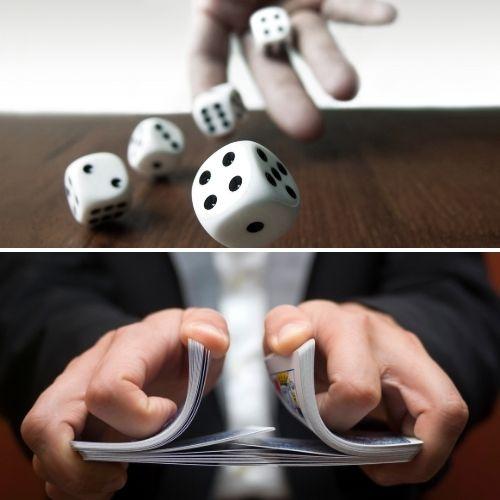 Creare una chiave privata con i dadi o le carte