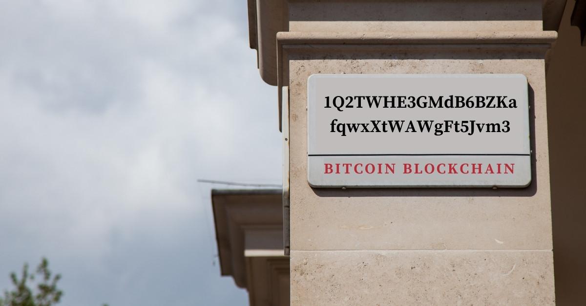 Un indirizzo bitcoin è simile ad un indirizzo postale
